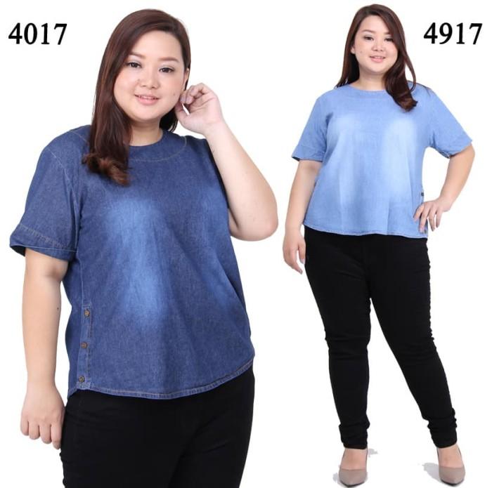 Jual Baju Atasan Untuk Orang Gemuk Agar Kelihatan Langsing Wanita Kekinian Biru Jakarta Pusat Sold Out Store Tokopedia