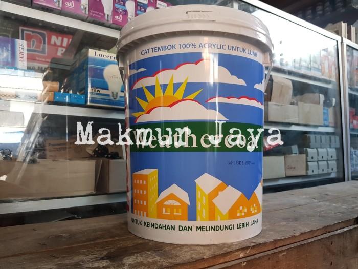 harga Mowilex weathercoat putih w1501 w-1501 pail cat tembok eksterior Tokopedia.com