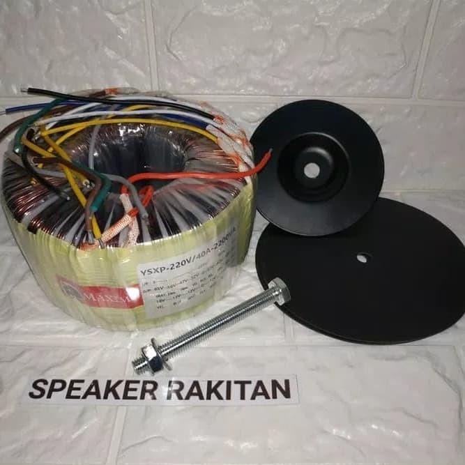 harga Trafo toroid maximo 2200va / 40a ct 65v Tokopedia.com