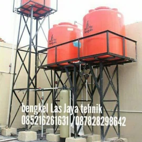 Jual Dudukan Tandon Besi Toren Air Kota Bekasi Jasa Las