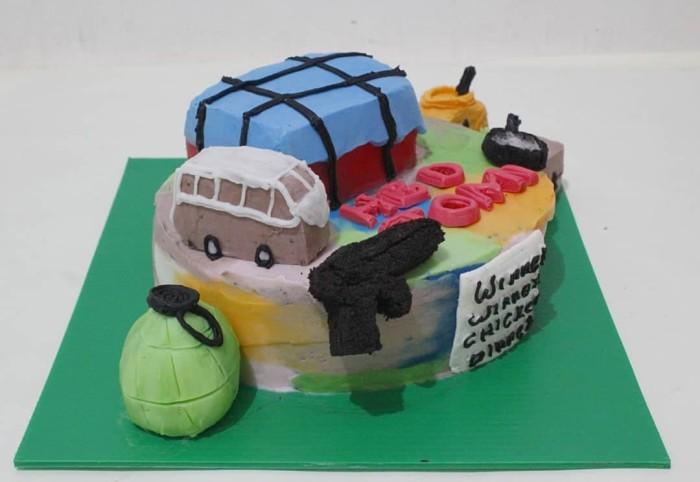 Jual Kue Tart Birthday Cake Tart Pubg 3d Tart Tart Unik