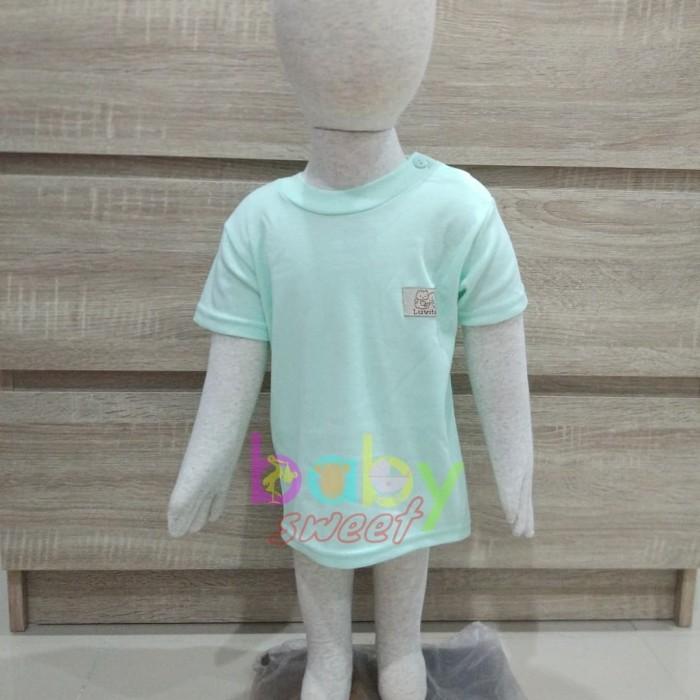 Luvita - Kaos Oblong Bayi / Kaos Pendek Bayi S (4pcs)