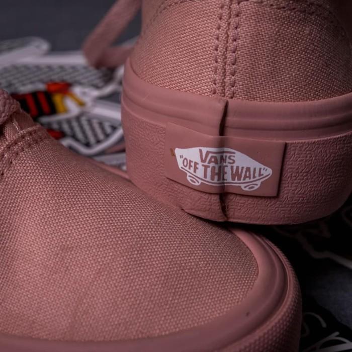 Jual Sepatu Vans Authentic Rosy Mono Sepia Rose Gold BNIB Original ... 1ed83a16c