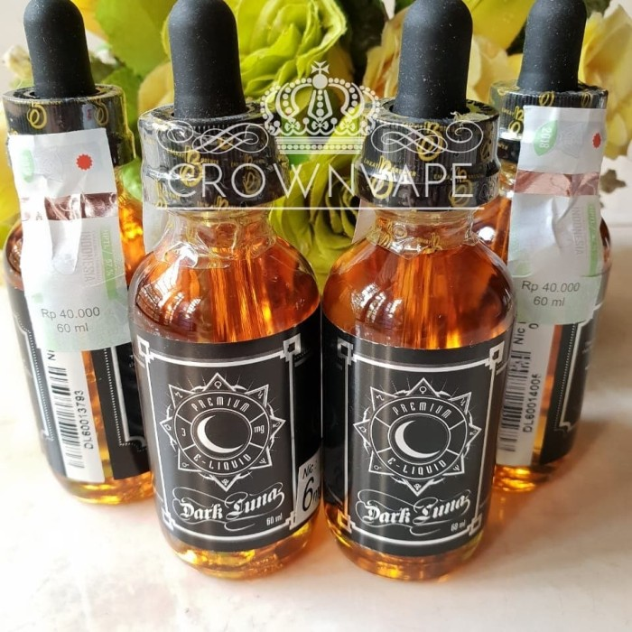 harga Dark luna by 6mg / 60ml - premium local liquid Tokopedia.com