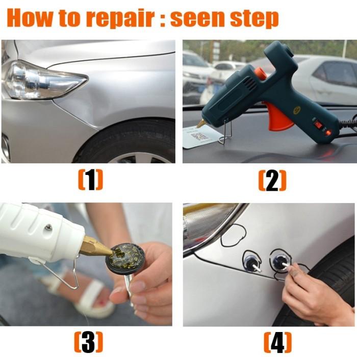 Paintless Dent Repair >> Jual Super Pdr Tools Dent Removal Paintless Dent Repair Pops A Dent Sandikashop Muslim Tokopedia