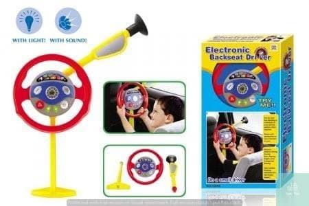 Foto Produk ELECTRONIC BACKSEAT DRIVER MAINAN STIR-STIRAN Anak Laki Setir Mobil dari Lumi Toys