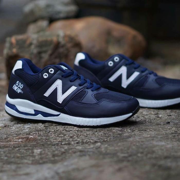 Jual sepatu sneakers casual running new balance 530 encap navy putih ... 4d710d2152