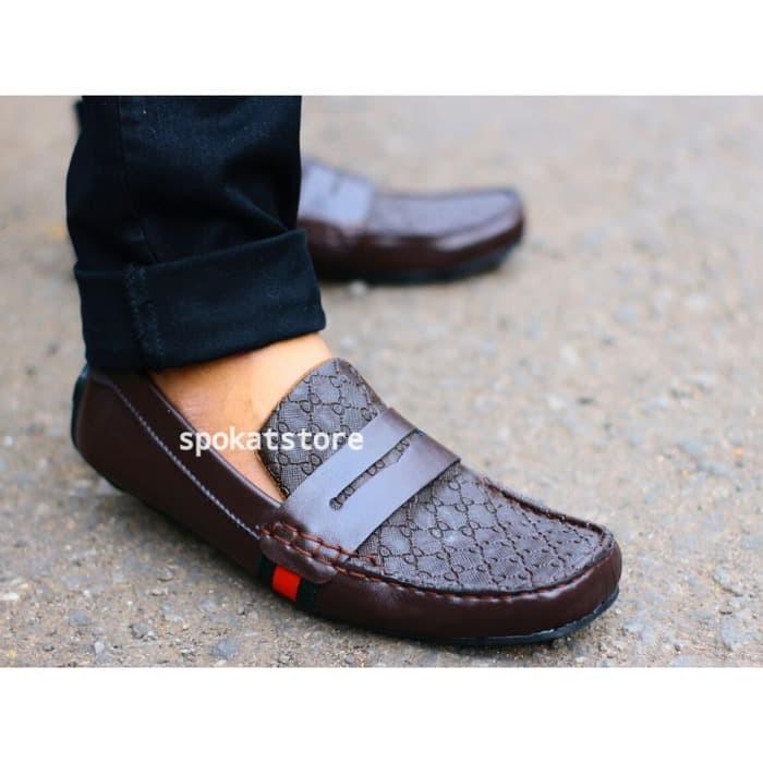 sepatu pria gucci slop casual slip on semi formal kickers adidas nik 40aa1b754e