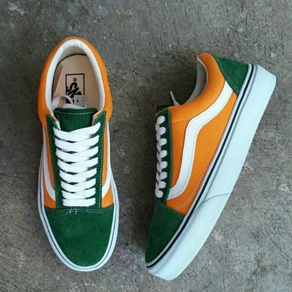 Jual SEPATU VANS OLDSKOOL CLASIC ANAHEIM FACTORY NEON GREEN ORANGE PREMIUM Kota Bandung buyut sneakers indonesia | Tokopedia