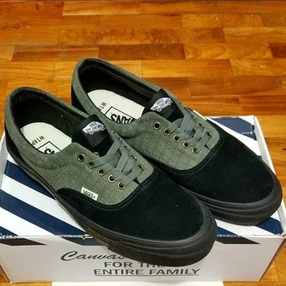 Jual Sepatu Vans OG Era x Wtaps Black Croc Green   Black Original ... ecde41463d
