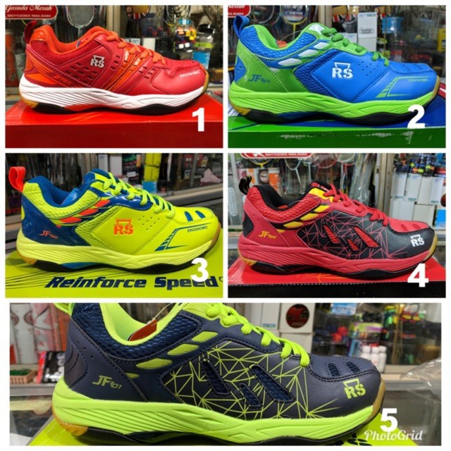 harga Sepatu badminton rs jeffer jf original olahraga pria 4 Tokopedia.com
