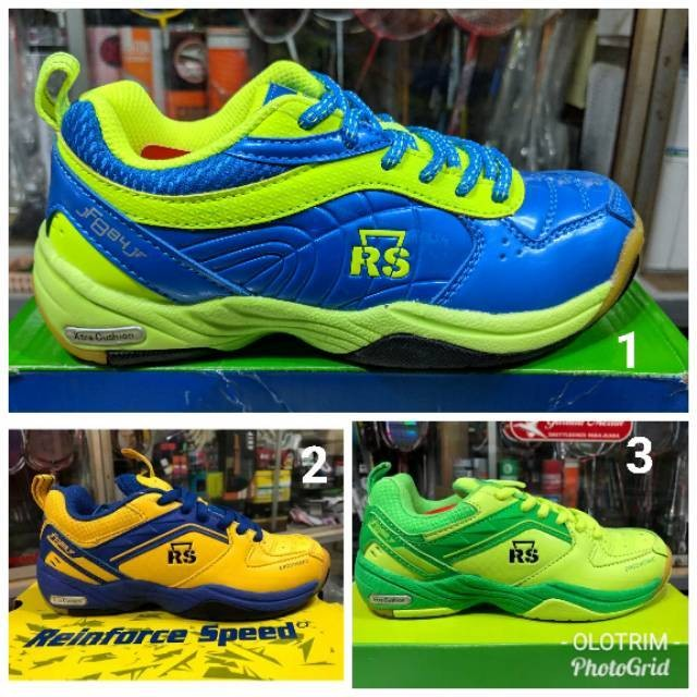 harga Sepatu badminton anak rs jeffer original olahraga pria 37 Tokopedia.com
