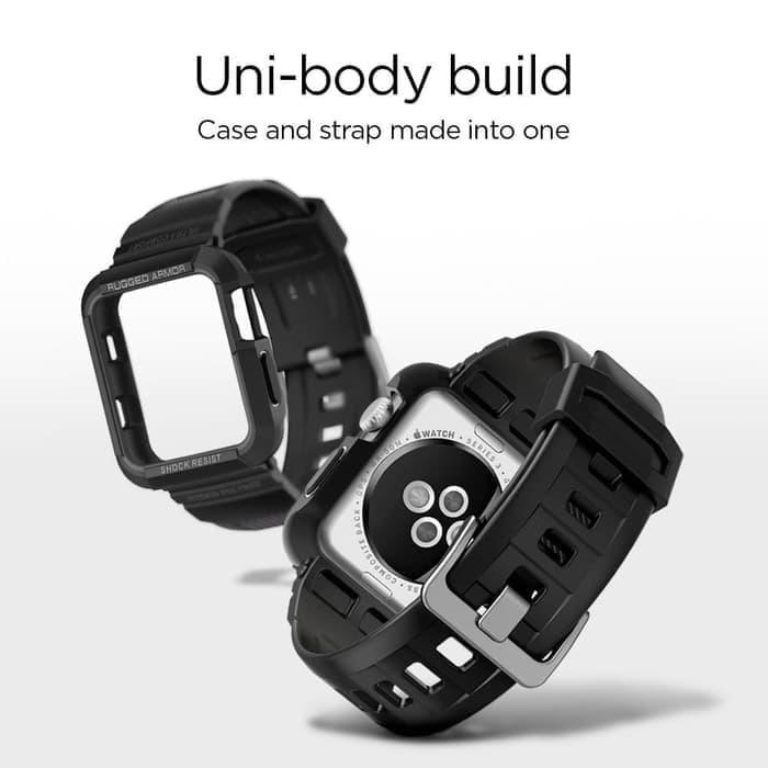 new products 2e469 8908a Jual Spigen Rugged Armor Pro Apple Watch Band w/ Case 42mm (3/2/1) ORIGIN -  DKI Jakarta - gujo@mymail90com | Tokopedia