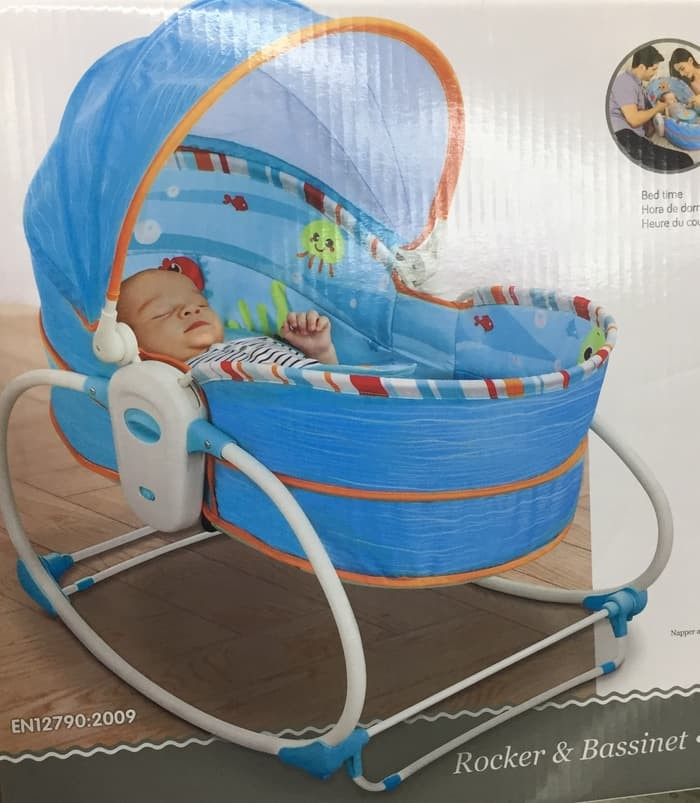 harga Bouncer cocolatte weeler 5 in 1 rocker basinnet & carry cot Tokopedia.com