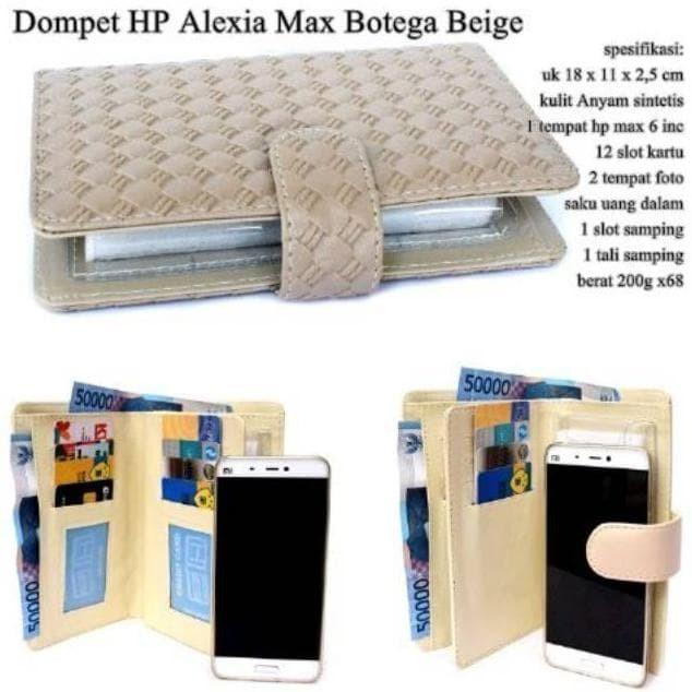 Promo BEST SELLER !!! Dompet hpo alexia max botega / dompet hpo wanita