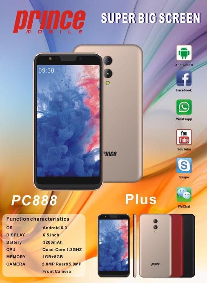 harga Prince pc888 plus android layar besar quad core murah - emas Tokopedia.com