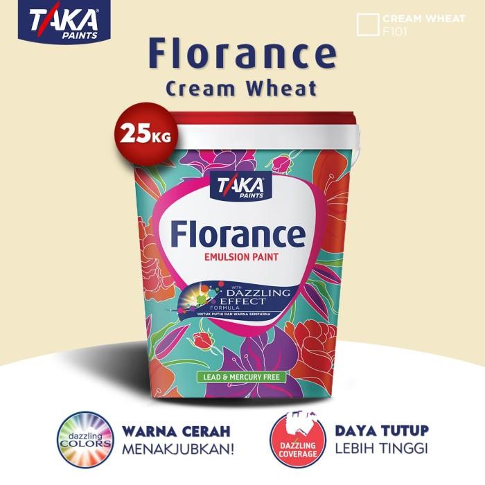 harga Taka florance cat tembok - cream wheat 25 kg (f101 (fs)) Tokopedia.com
