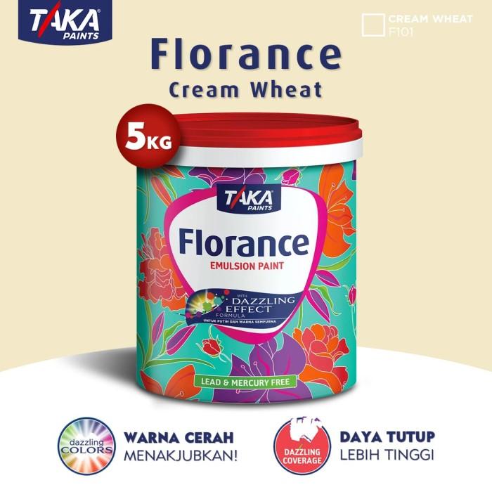 harga Taka florance cat tembok - cream wheat 5 kg (f101 (fs)) Tokopedia.com
