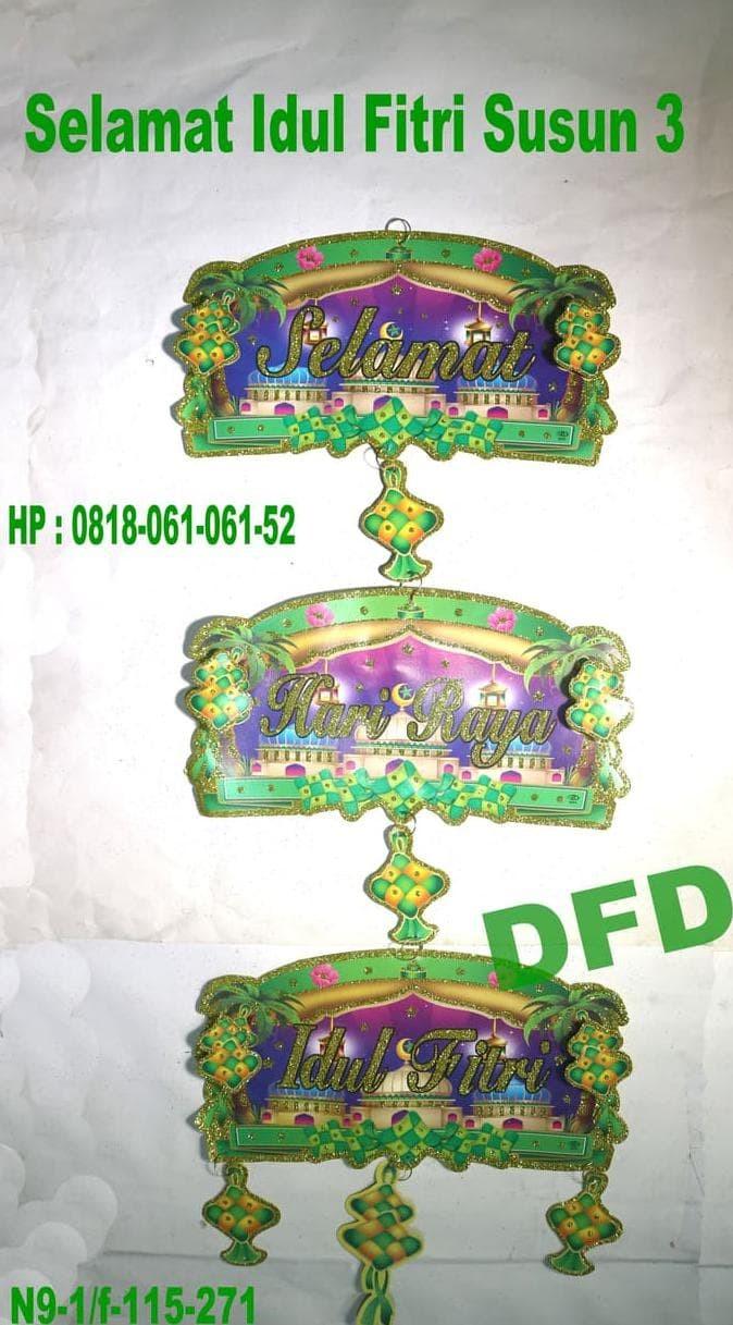Jual New Dekorasi Lebaran Hiasan Idul Fitri Gantungan Idul
