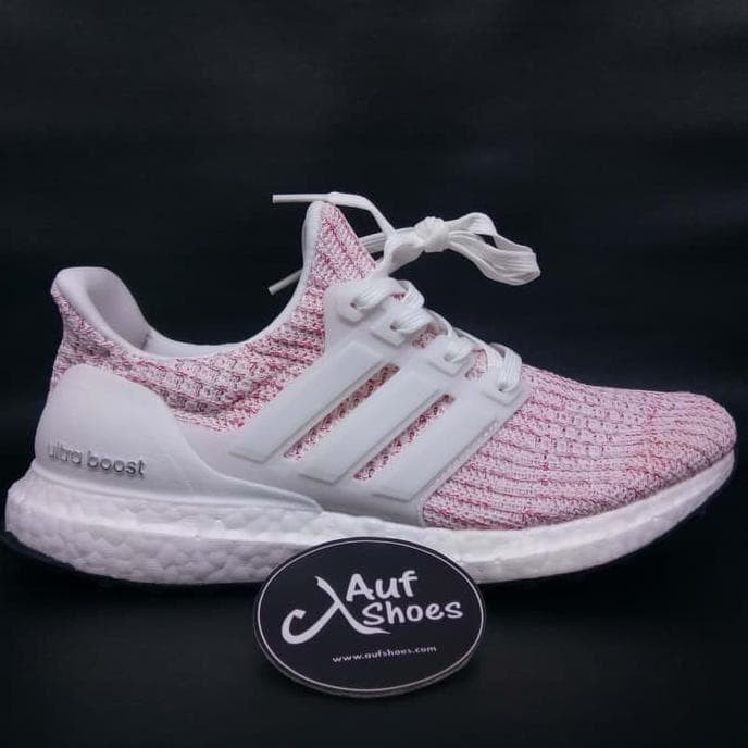 reputable site d7edc 737d3 Adidas Ultra Boost 4.0 Candy Cane White Pink Bb6169 - Putih, 36
