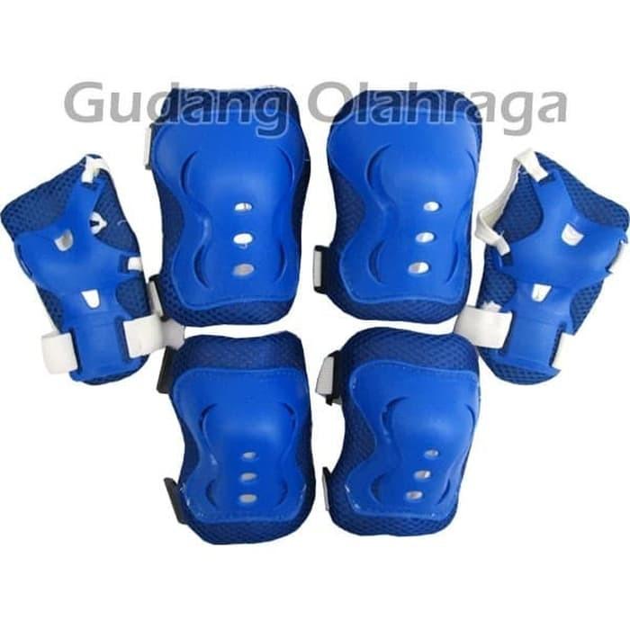 Jual DEKER INLINE SKATE   Pelindung Lutut Sikut Sepatu Roda Anak ... 91933570cb