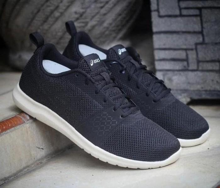 brand new a34f3 4d343 Jual sepatu running asics kanmei MX black original asli murah - Kab.  Sidoarjo - sopirgusdur | Tokopedia