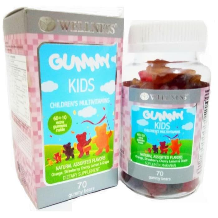 Wellness Gummy Kids 70 Gummies / suplemen anak - 69016