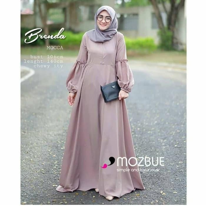 Jual Gamis Modern Brenda Maxi Dress Hijab Modern Kab Bandung Pusat Setelan Muslim Tokopedia