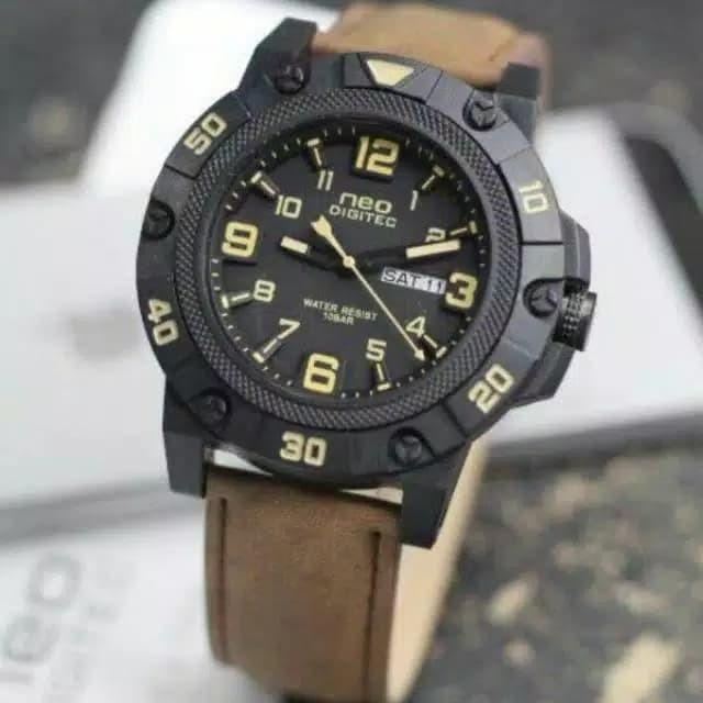 jam tangan Pria Neo Digitec - Hitam