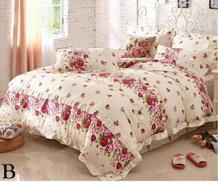 Murmer Cotton Bed Sheet Set - Sprei