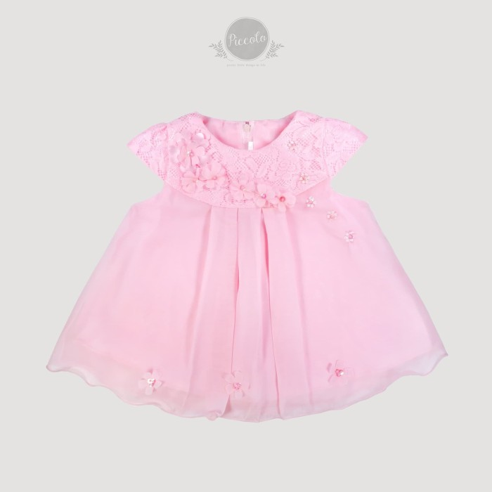 Jual Baju Anak Bayi Perempuan Dress Gaun Pesta Bayi Newborn Bb87p