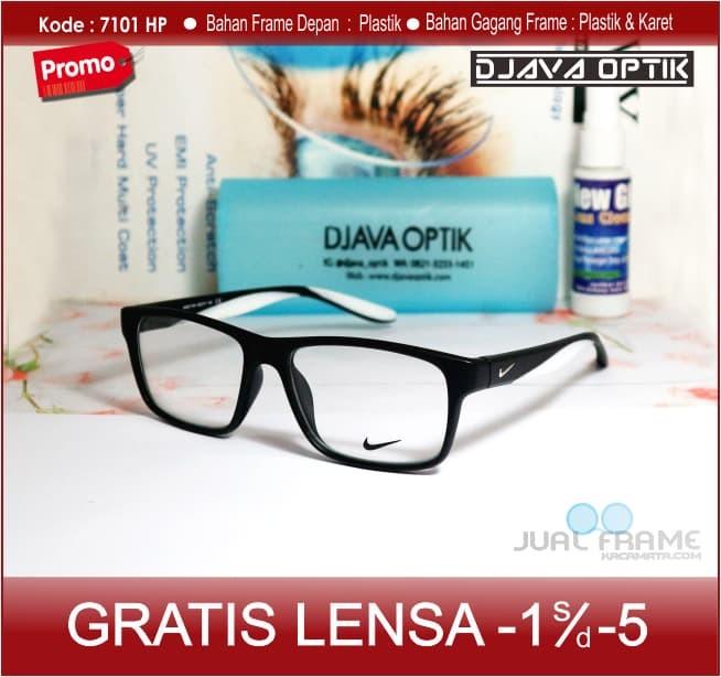 kacamata kotak 7101 pria wanita Lensa Antiradiasi Minus Plus+cylinder ad1bd930f7