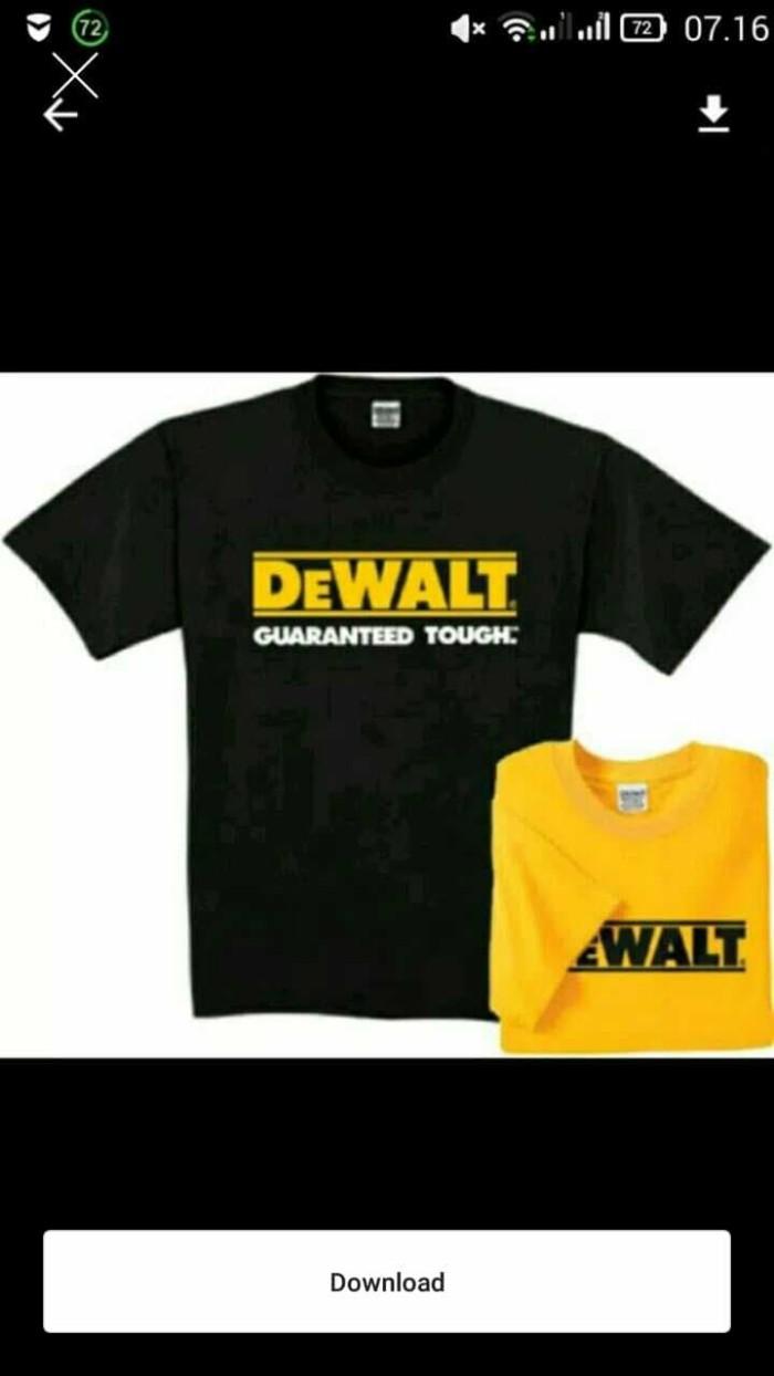 Jual Tshirt Kaos DEWALT Kota Bekasi Adamhermawan