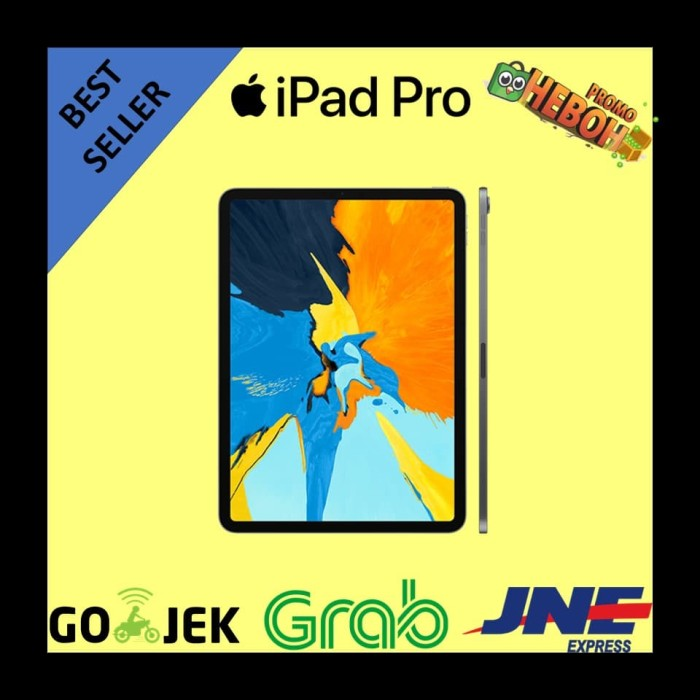 harga [ready] bnib new apple ipad pro 11  inch 2018 64 gb 64gb wifi only Tokopedia.com