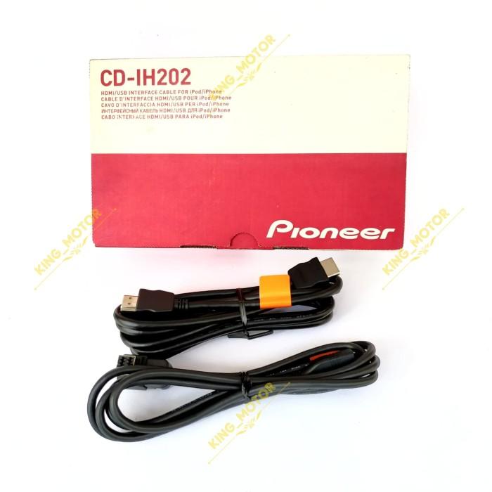 Pioneer  CD-IV202AV  USB-Verbindungskabel für iPhone 5 Audio und Video