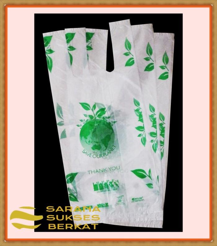 Foto Produk Plastik Kemasan Kresek Thank You - Degradable Bag - 15cm dari Sarana Sukses Berkat