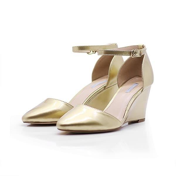 Jual MARIE CLAIRE Sepatu Wanita VIKTO GOLD 6610506 - Bata Official ... a310270665