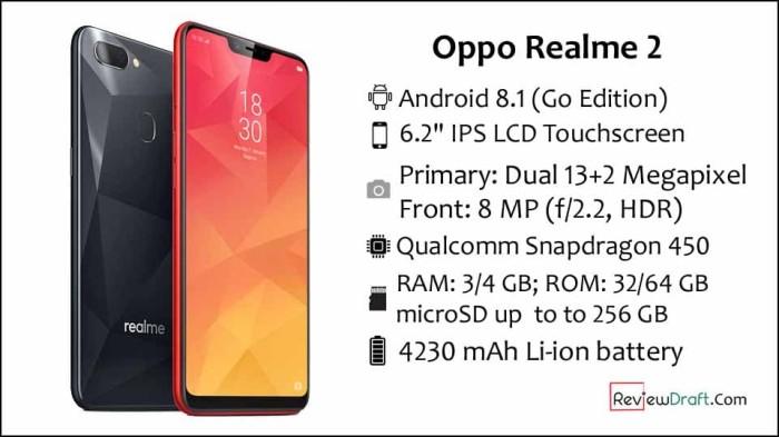 Jual Oppo Realme 2 Ram 3 32 Resmi Biru Ace Ponsel Tokopedia
