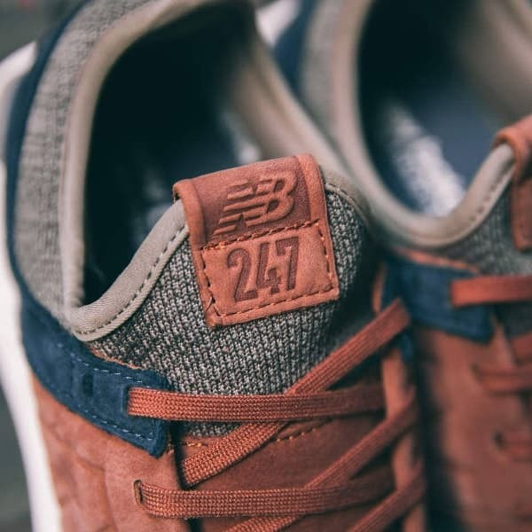 Jual New Balance 247 Luxe Knit Pack Brown Kab. Bandung Sri NJ || Golden Shoes | Tokopedia