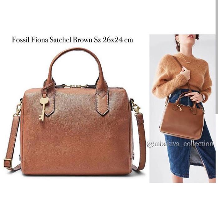 cc301c26ec Jual FOSSIL FIONA SATCHEL BROWN - Kab. Sidoarjo - Fossil lovers ...
