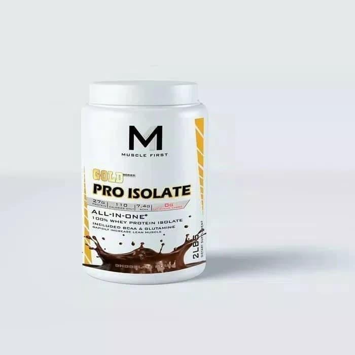 Jual M1 Muscle First Pro Gold Isolate Wpi Murah Susu Diet Debm 2lbs