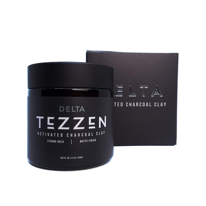 Foto Produk Tezzen Delta Activated Charcoal Clay dari Tezzen Grooming