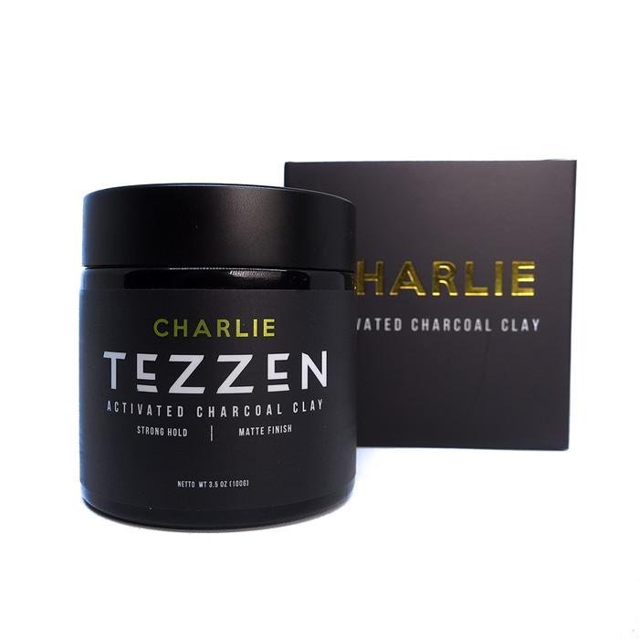 Foto Produk Tezzen Charlie Activated Charcoal Clay dari Tezzen Grooming