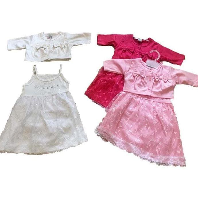 Jual Beli Baju Bayi Perempuan Dress Bayi Gaun Pesta Anak Bayi