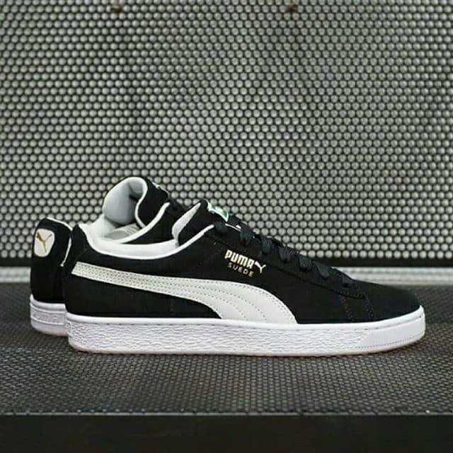 low priced 82f64 0dd0e Jual PUMA SUEDE CLASSIC BLACK WHITE ORIGINAL - Kab. Sleman -  4StationFootwear   Tokopedia