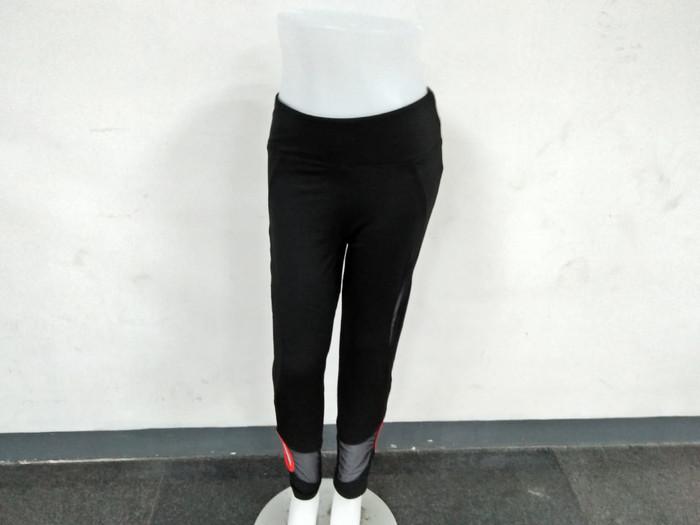 Baju Senam Celana Legging hitam - ,