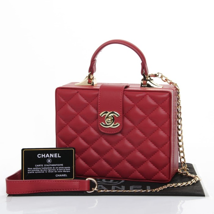 c81c08365d80 Jual CHANEL BOXY BAG YR577 - Kota Batam - dhaffy collection   Tokopedia