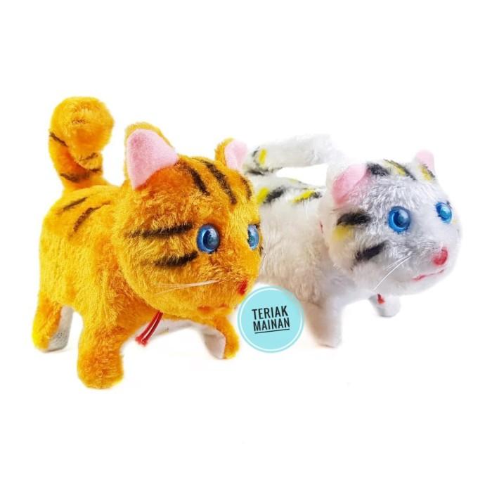 Jual Kucing Mainan Robot Kucing Boneka Kucing Kab Bekasi Teriak Mainan Tokopedia