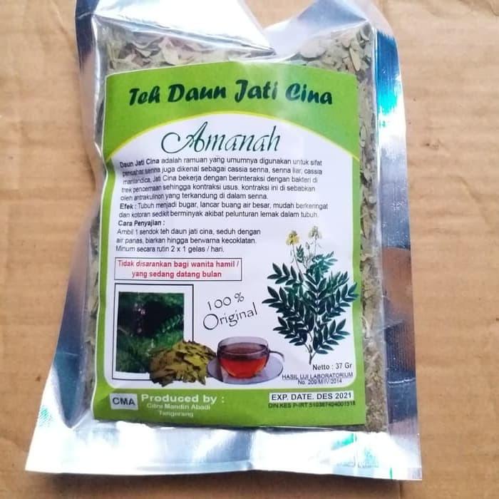 Foto Produk Teh Daun Jati Cina Amanah dari herbal shop92