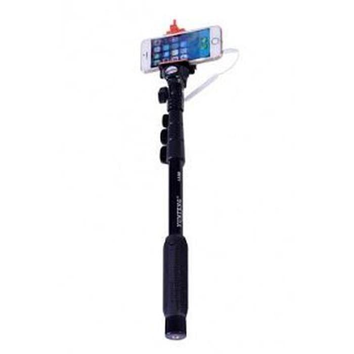 Jual Tongsis Monopod Profesional Yunteng Kabel YT-1188 Self Stick G
